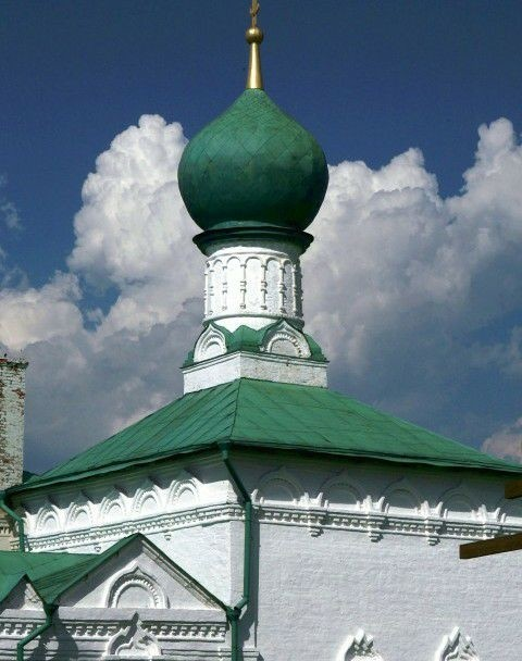 Церковь Всех Святых Троикого Данилова монастыря в Переславле-Залесском