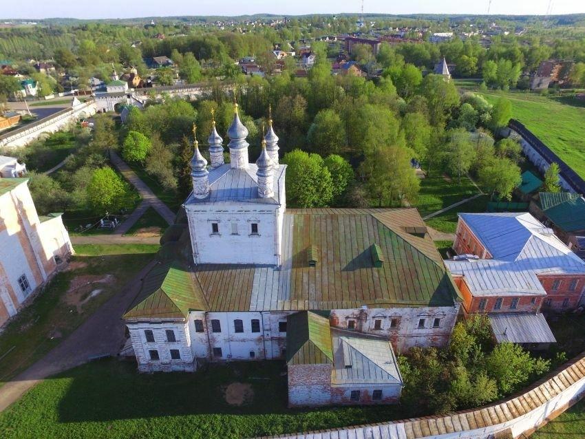 Церковь Всех Святых в Горицком Успенском монастыре в Переславле-Залесском