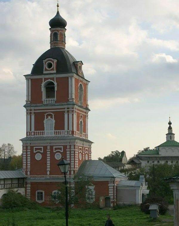 Церковь Богоявления Господня и Колокольня в Горицком Успенском монастыре в Переславле-Залесском