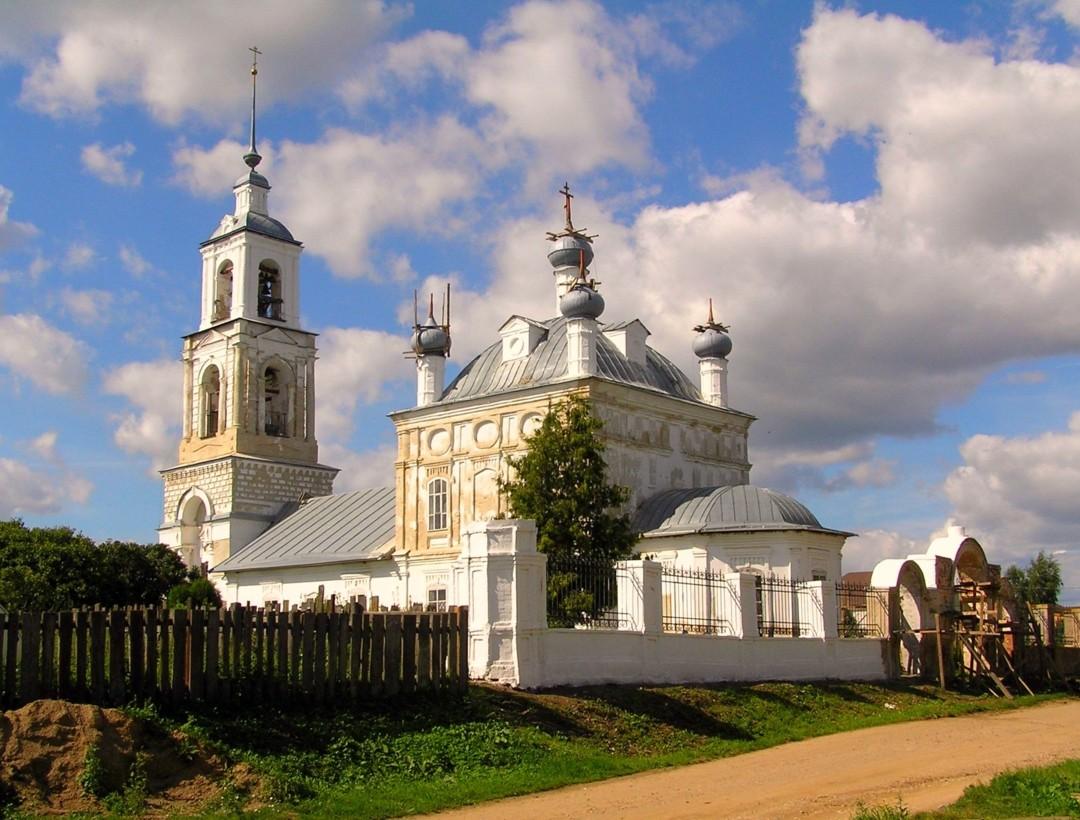 Церковь Рождества Пресвятой Богородицы в Городище Переславского района