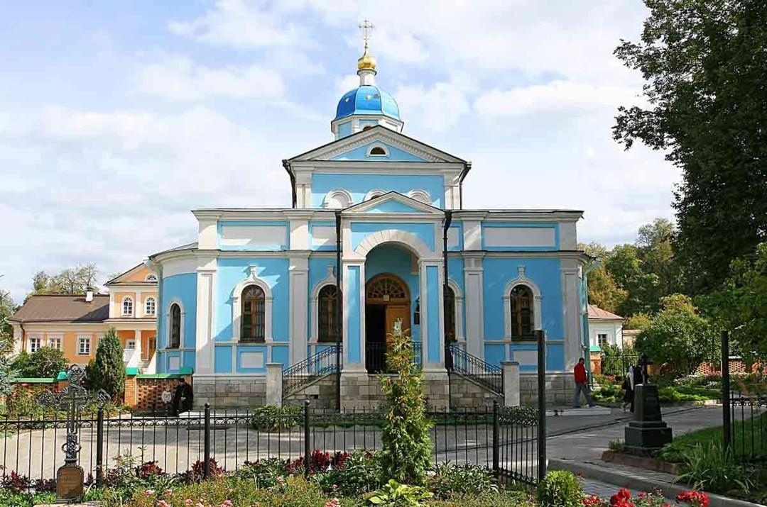 Храм Владимирской иконы Божией Матери Введенской Оптиной Пустыни