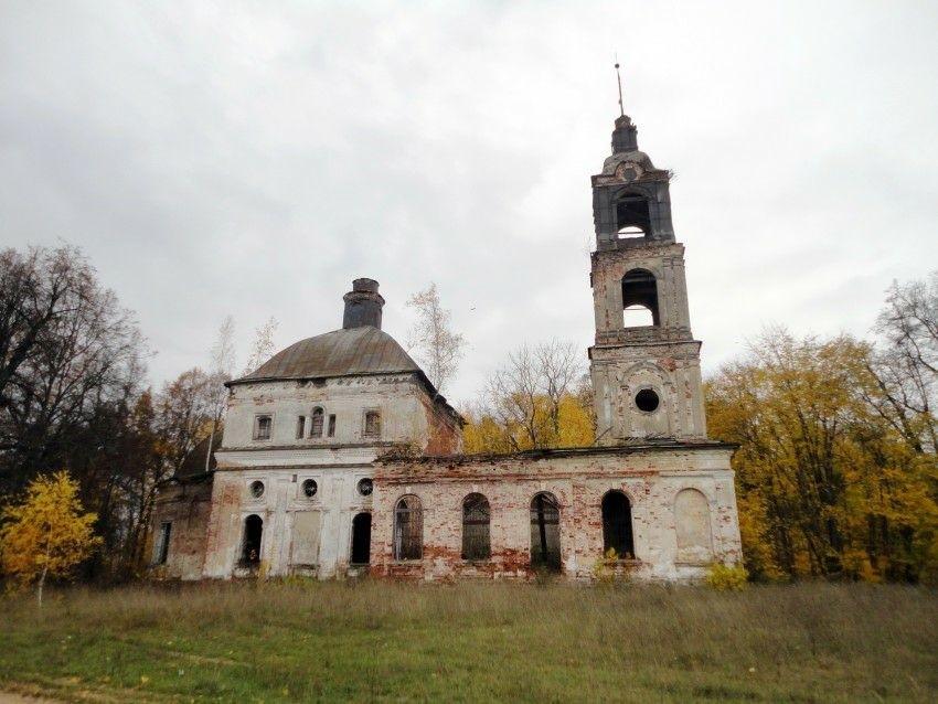 Церковь Благовещения Пресвятой Богородицы в Загорье