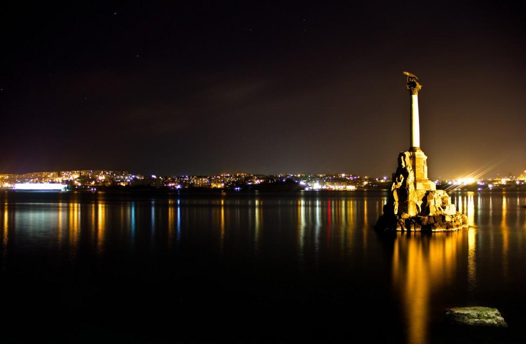 Памятник затопленным кораблям (Севастополь, Крым)