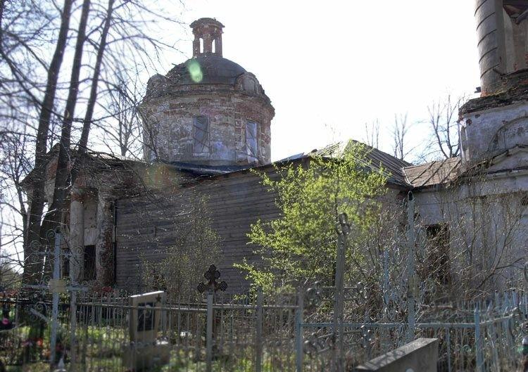 Церковь Бориса и Глеба в Волохово