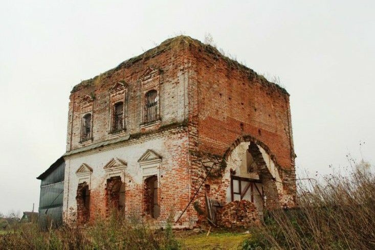 Церковь Николая чудотворца в Полиносово