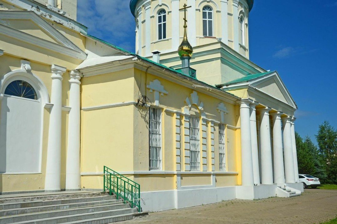 Церковь Николая Чудотворца в Бужаниново