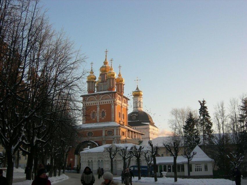 Церковь Рождества Иоанна Предтечи в Свято-Троицкой Сергиевой лавре в Сергиевом Посаде