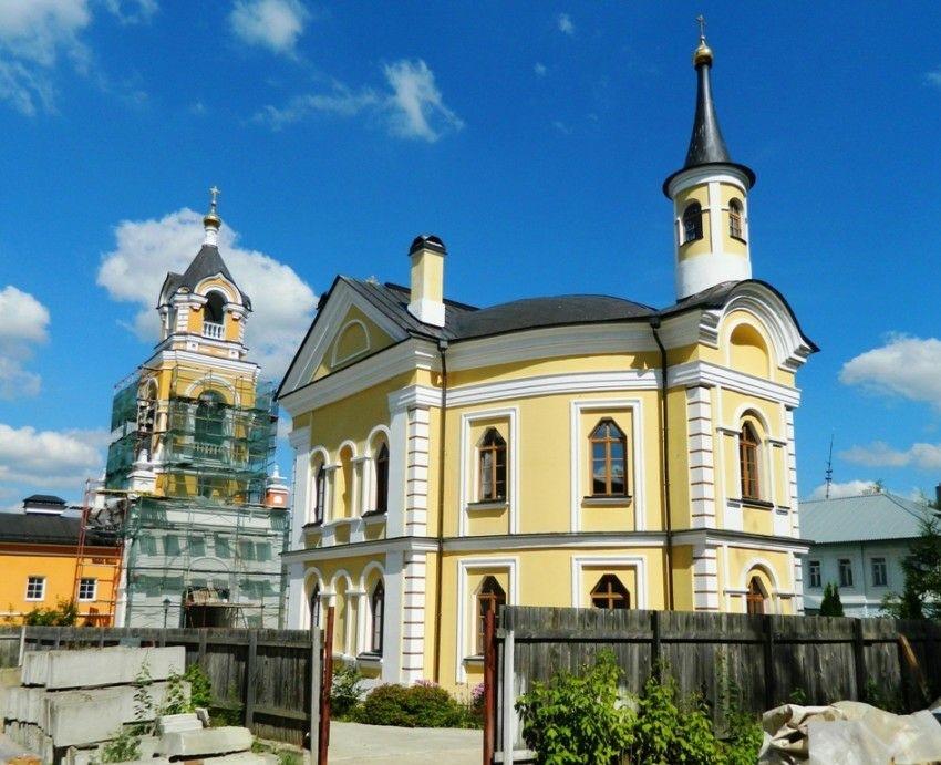 Церковь Преображения Господня в сапсо-Вифанском монастыре в Сергиевом Посаде