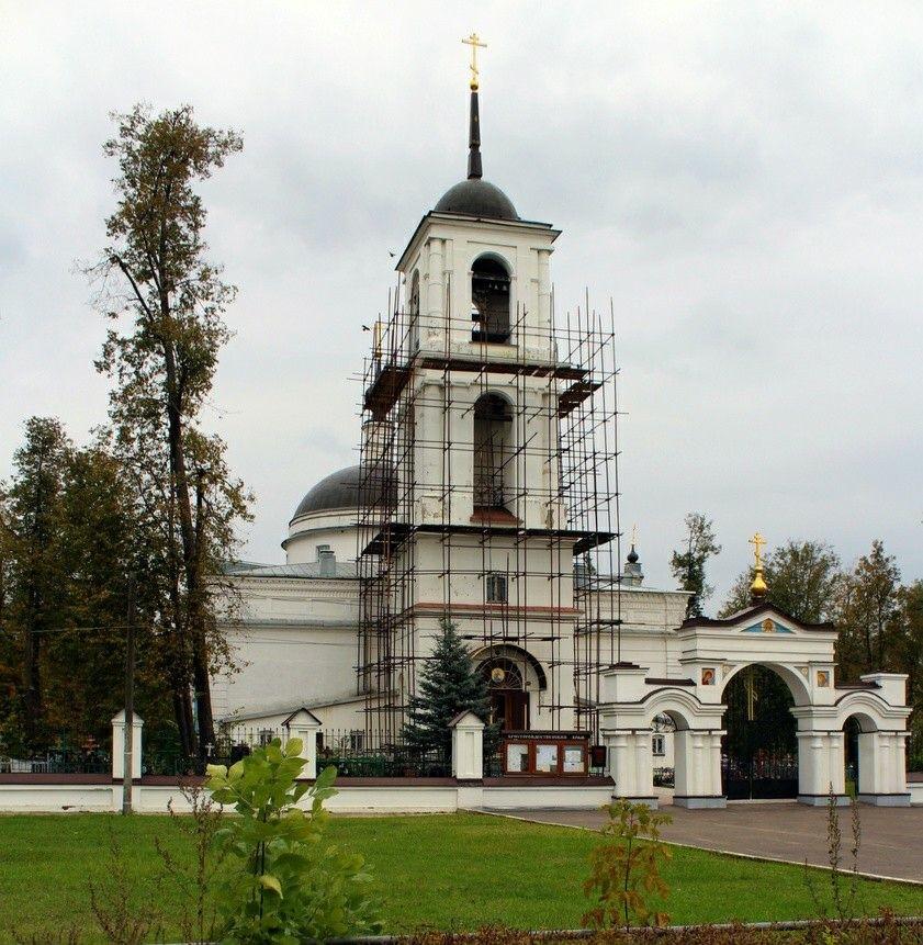 Церковь Рождества Христова в Ямкино