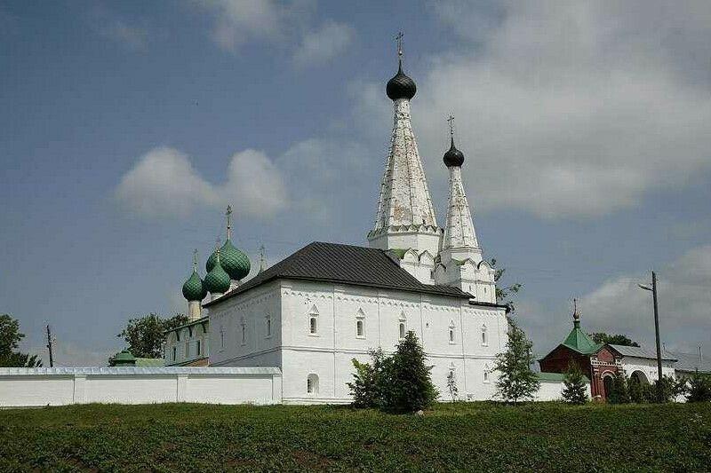 Церковь Успения Пресвятой Богородицы Алексеевского женского монастыря в Угличе
