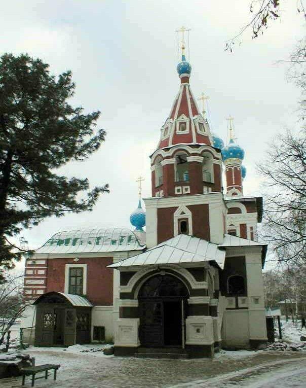 Церковь Димитрия Царевича на Крови в Угличском Кремле