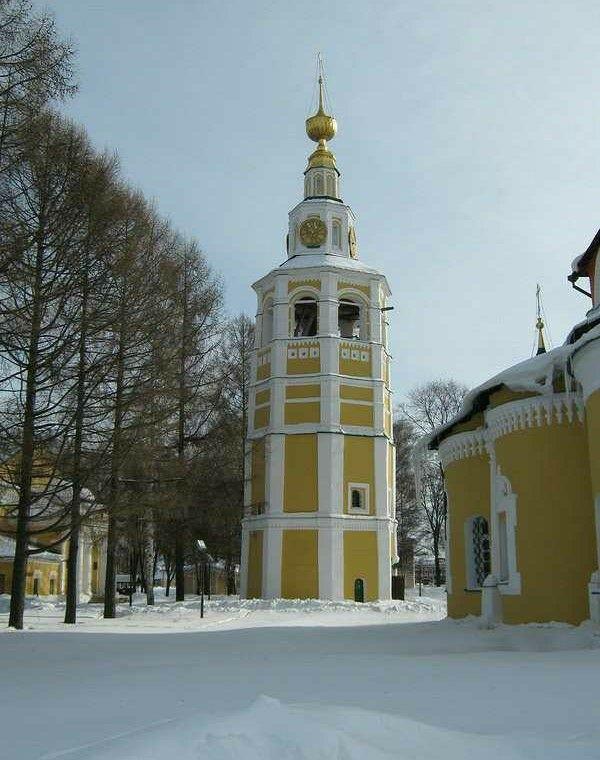 Колокольня Спасо-Преображенского Собора в Угличском Кремле
