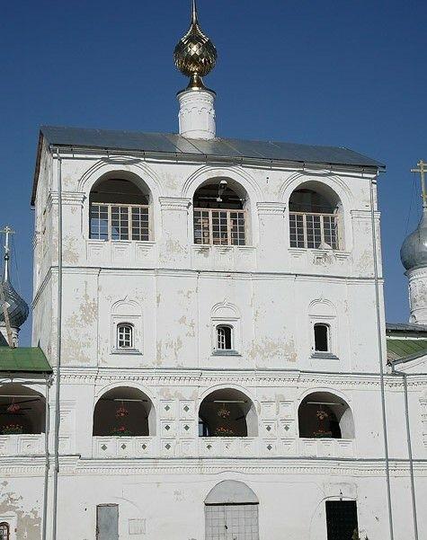 Звонница с церковью Марии Египетской в Воскреснском Угличском монастыре
