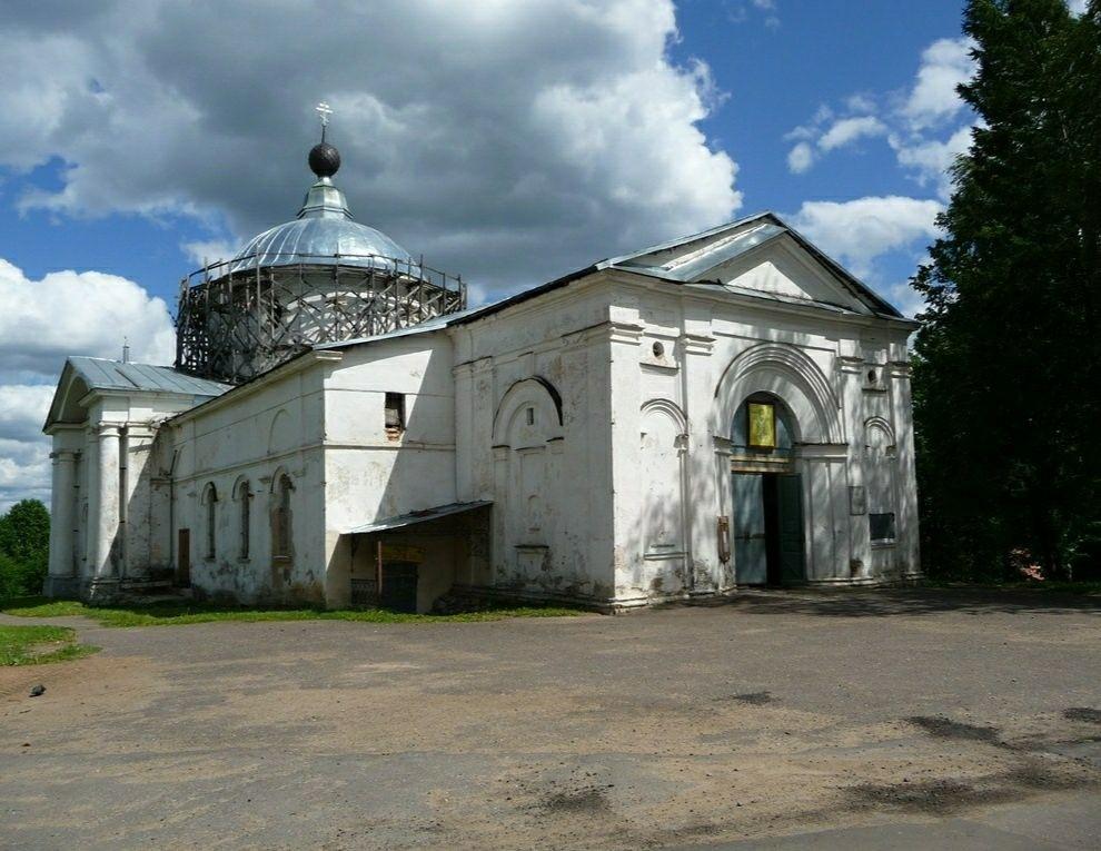 Церковь Николая чудотворца в Мышкине
