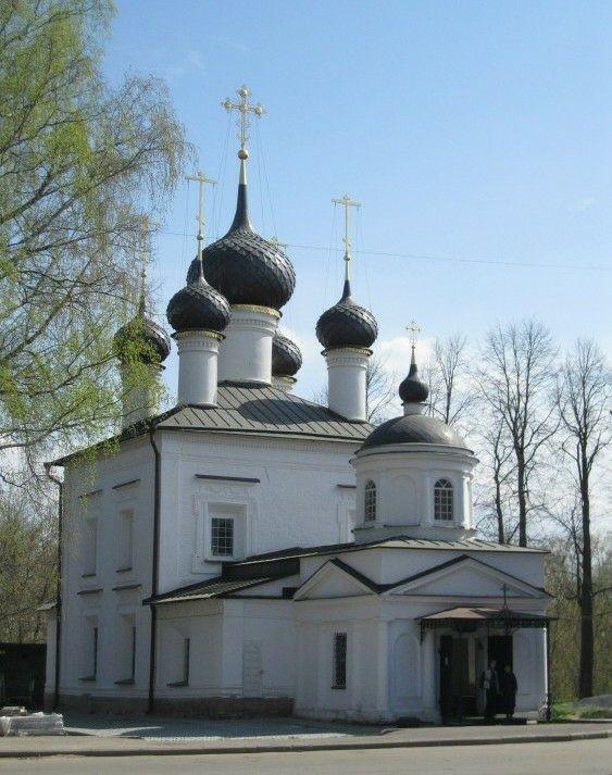 Церковь Казанской иконы Божией матери в Рыбинске