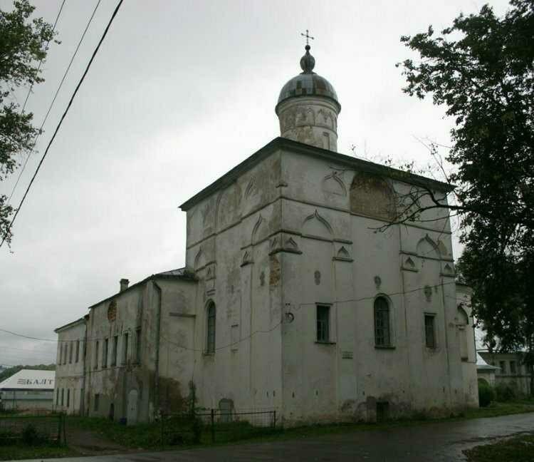 Церковь Сретения Господня Антониева монастыря в Великом Новгороде