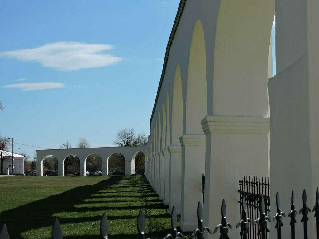Гостиный двор Ярославова дворища в Великом Новгороде