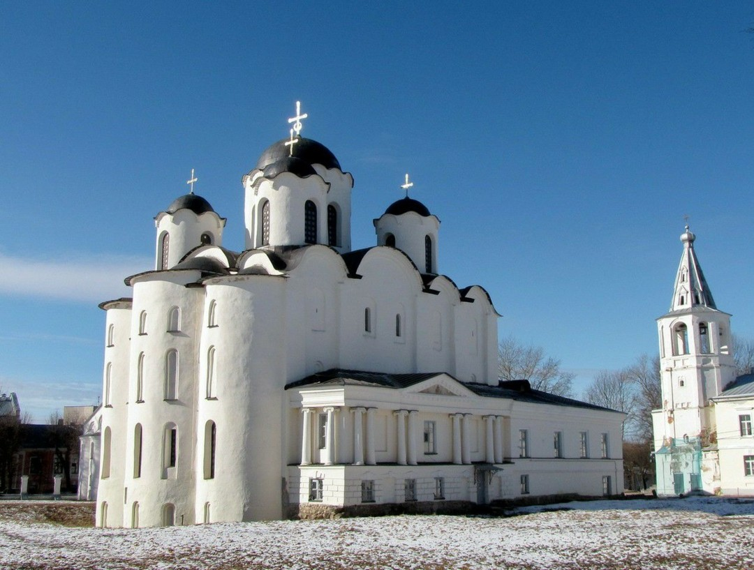 Николо-Дворищенский собор в Великом Новгороде