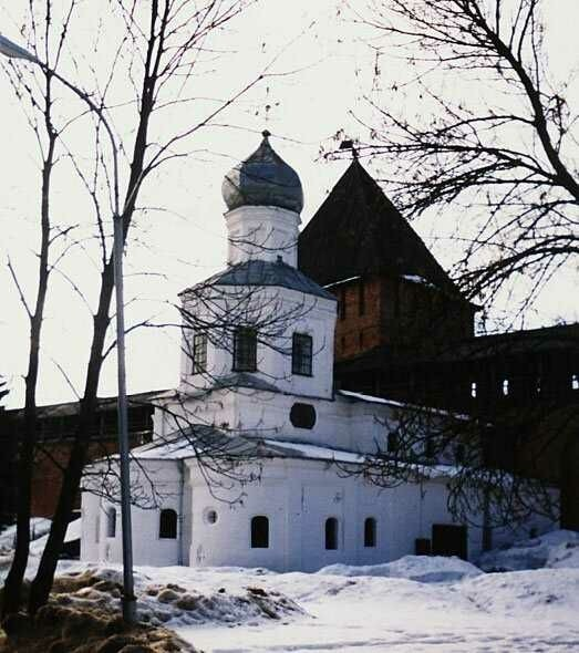 Покровская церковь в Новгородском Кремле