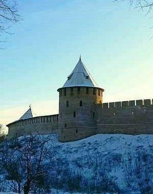 Фёдоровская башня в Новгородском Кремле