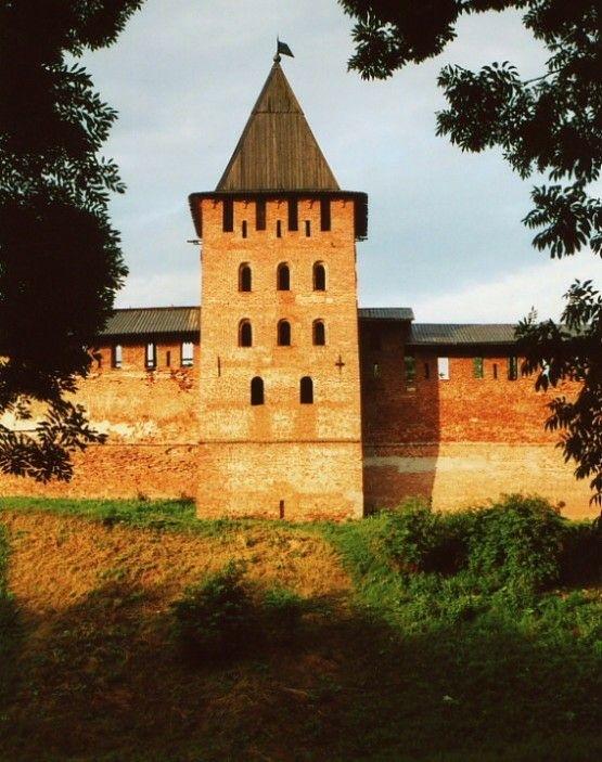 Княжная башня в Новгородском Кремле
