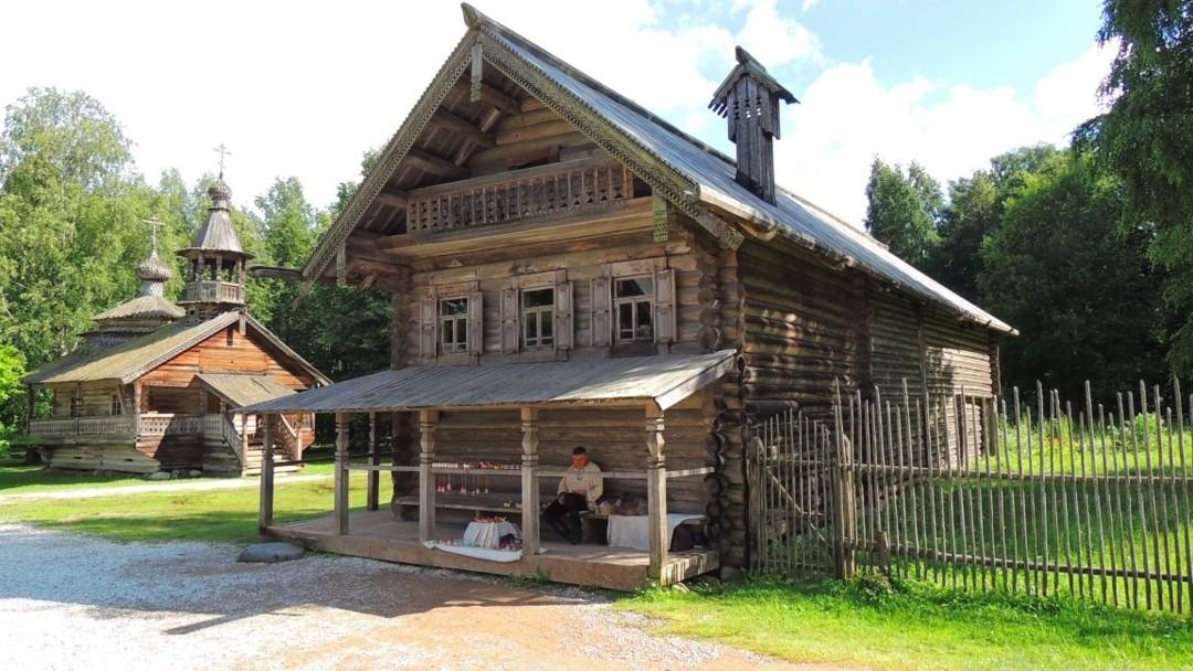 Музей народного деревянного зодчества Витославлицы в Великом Новгороде