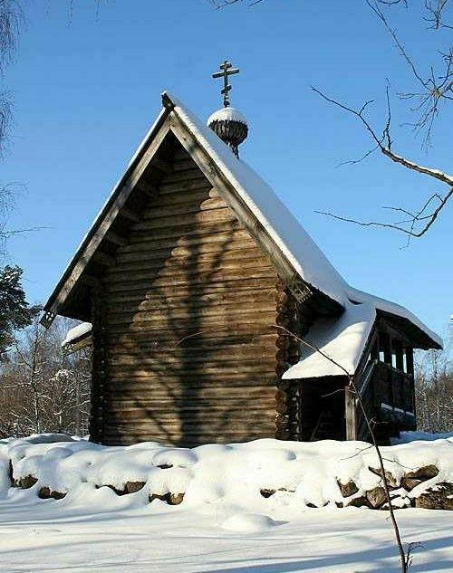 Часовня Марии Магдалины из деревни Малышево в Витославлицах в Великом Новгороде