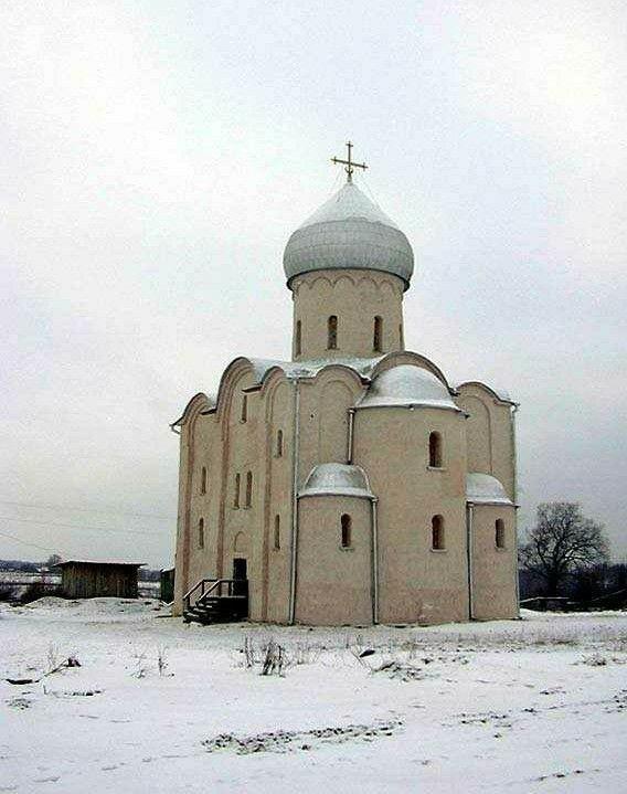 Церковь Спаса Преображения на Нередице в Великом Новгороде