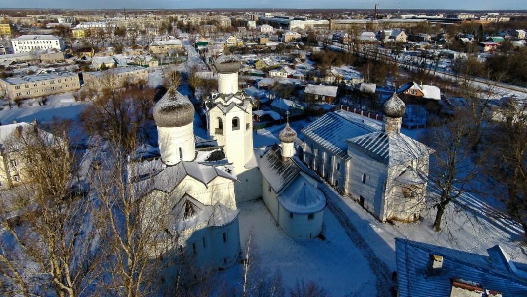Спасо-Преображенский Старорусский монастырь в Старой Руссе