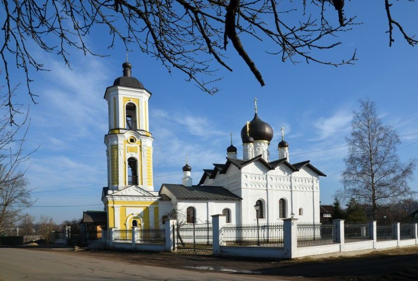 Церковь Николая Чудотворца в Старой Руссе