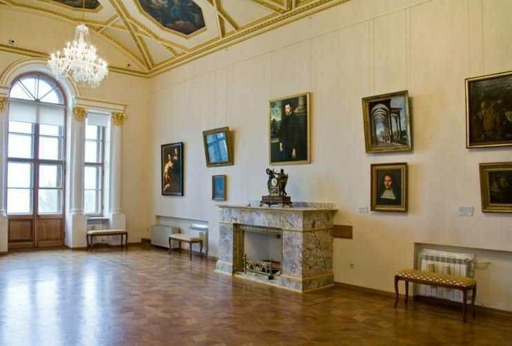 Нижегородский государственный художественный музей в Нижегородском Кремле