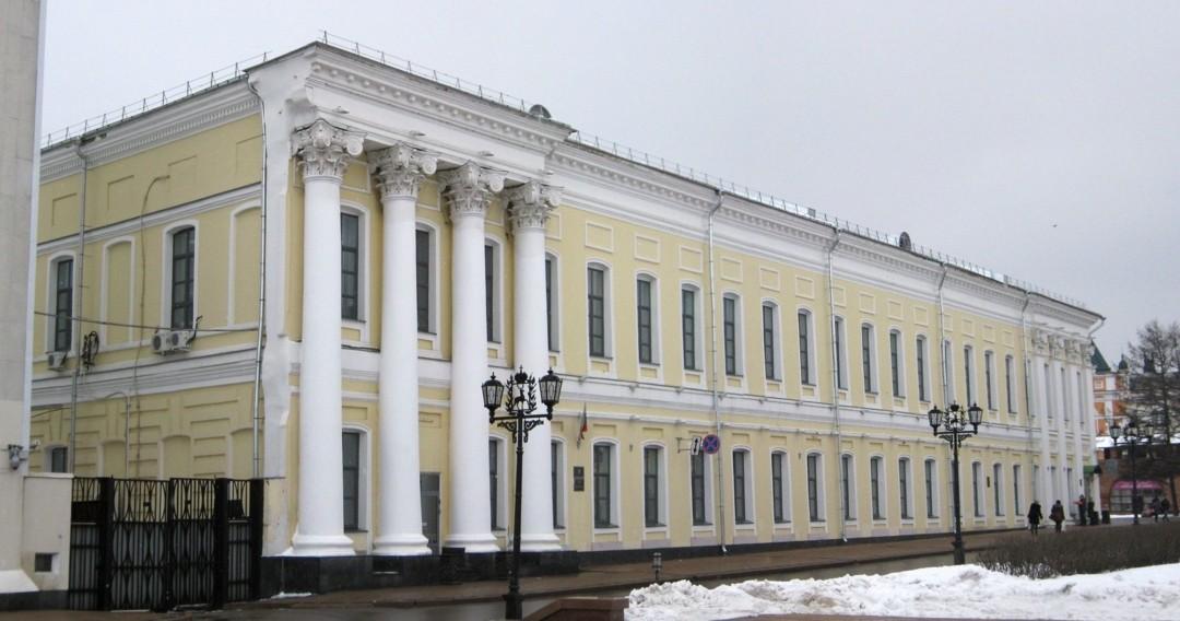 Дом вице-губернатора в Нижегородском Кремле
