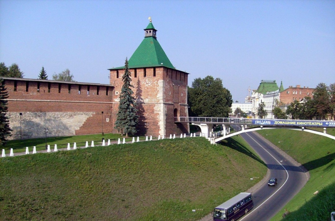 Никольская башня в Нижегородском Кремле