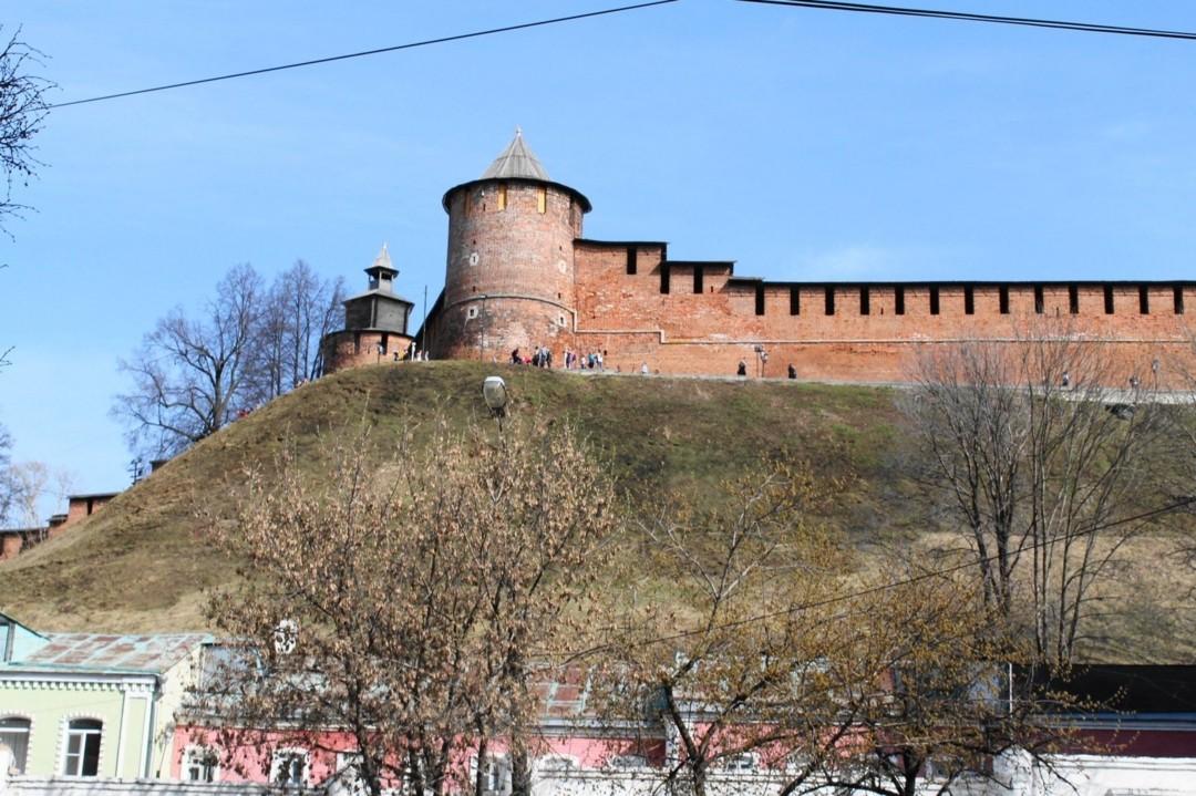 Северная башня в Нижегородском Кремле