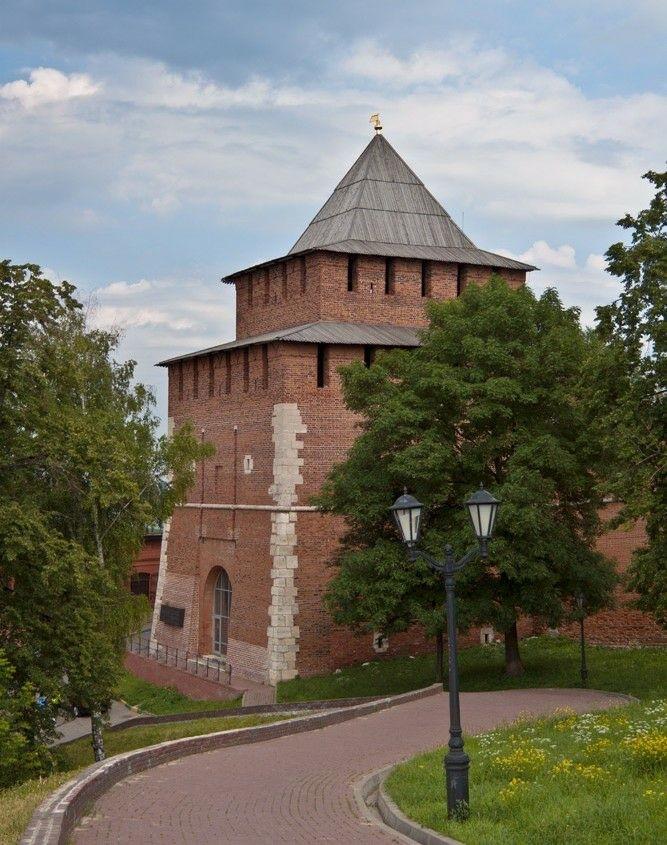 Ивановская башня в Нижегородском Кремле
