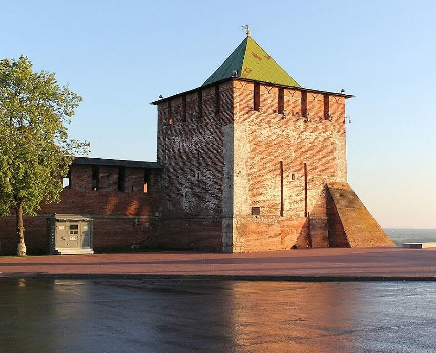 Георгиевская башня в Нижегородском Кремле