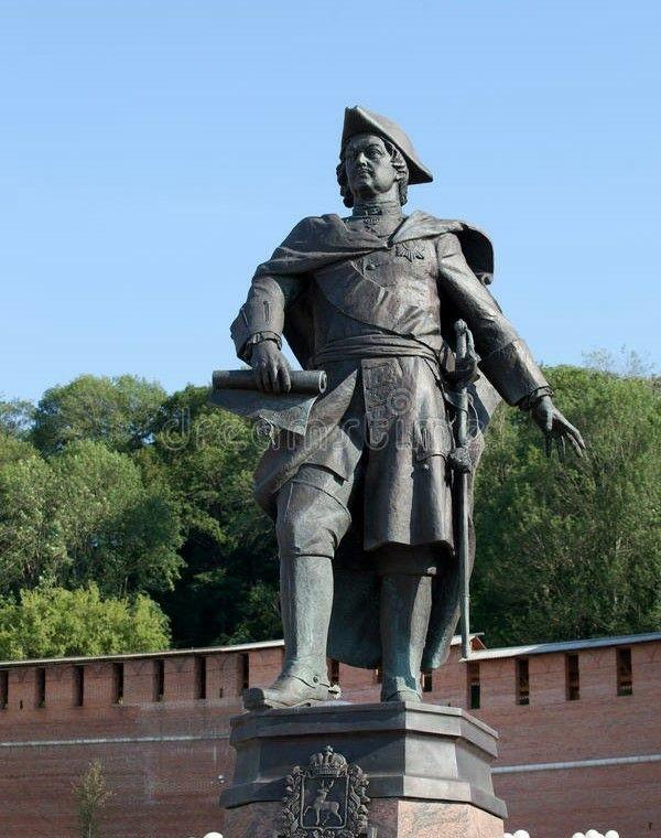 Памятник Петру I в Нижнем Новгороде