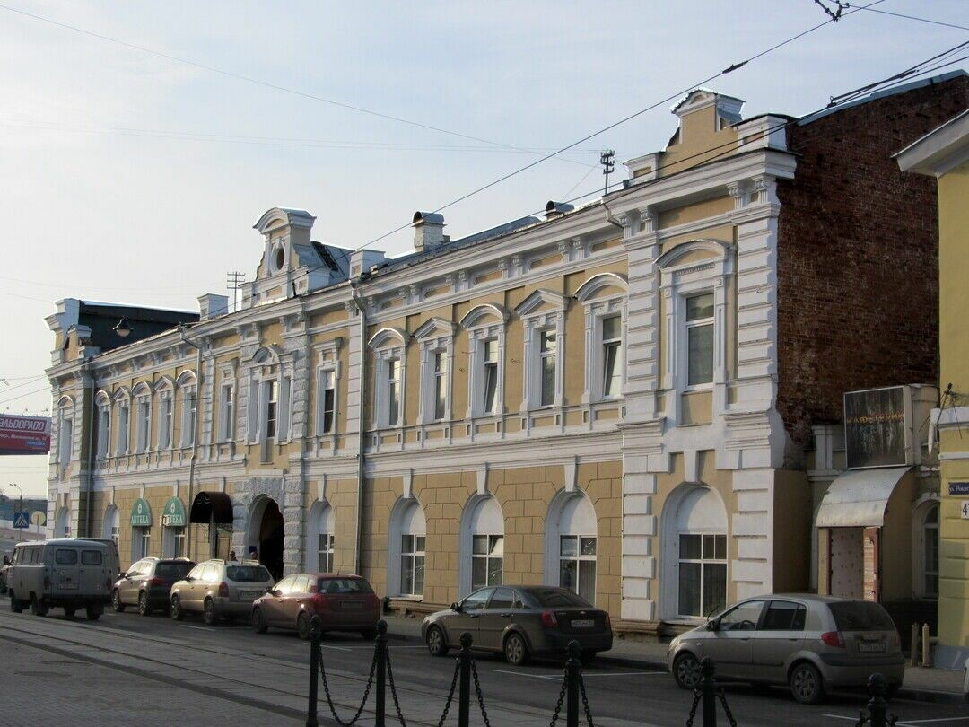 Дом В.К. Мичурина в Нижнем Новгороде