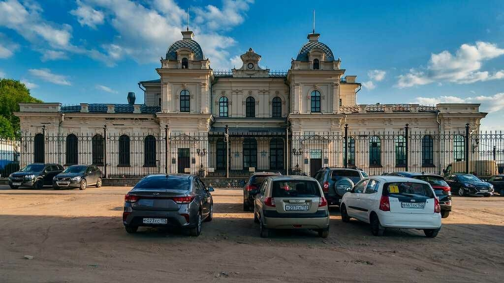 Ромодановский вокзал в Нижнем Новгороде