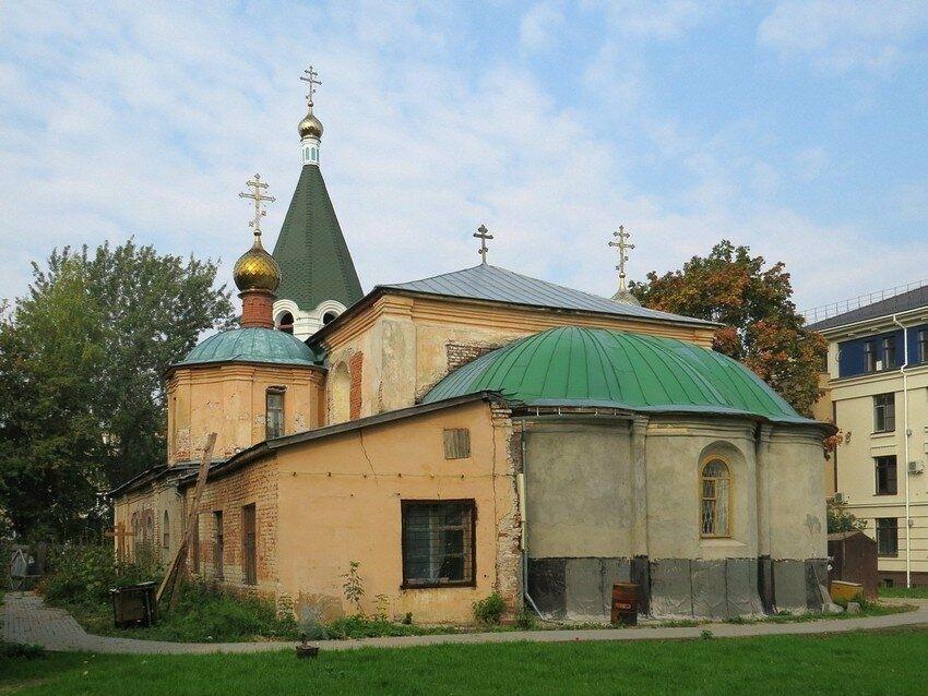 Церковь Похвалы Пресвятой Богородицы в Нижнем Новгороде