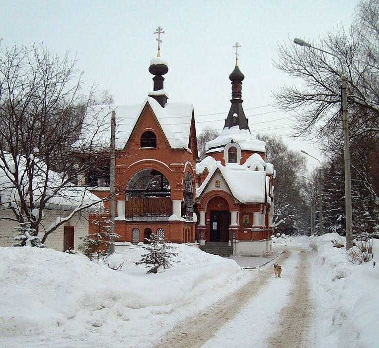 Церковь всех святых в Марьиной Роще в Нижнем Новгороде