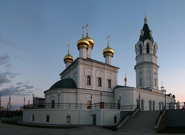 Церковь Троицы Живоначальной в Копосово