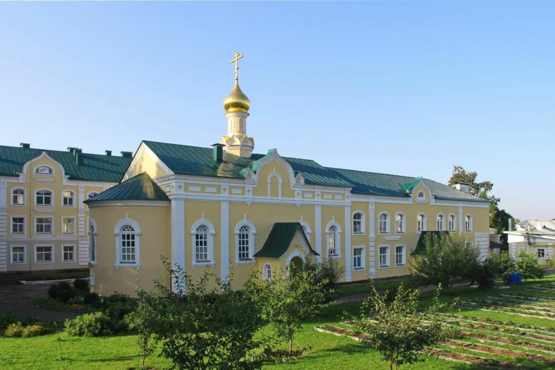 Церковь Иконы Божией Матери Целительница Свято-Троицкого Серафимо-Дивеевского женского монастыря