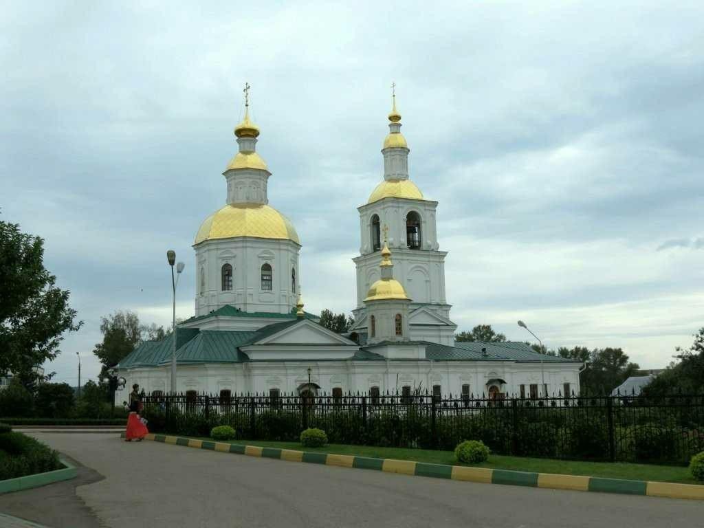 Церковь Рождества Богородицы Свято-Троицкого Серафимо-Дивеевского женского монастыря