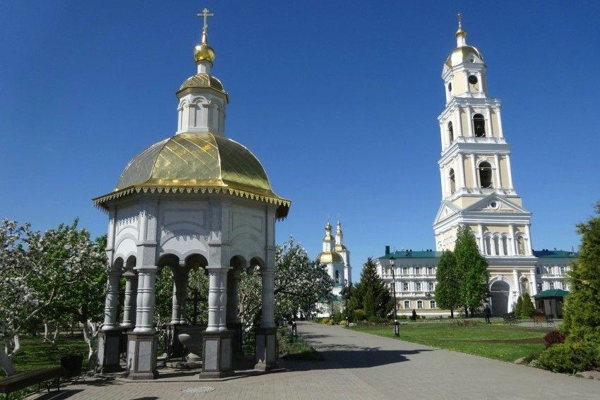 Часовня-Сень Серафима Саровского Свято-Троицкого Серафимо-Дивеевского женского монастыря