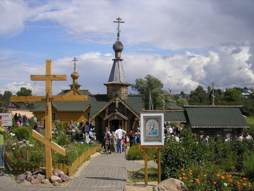 Часовня Казанской Иконы Божией Матери в Дивеево