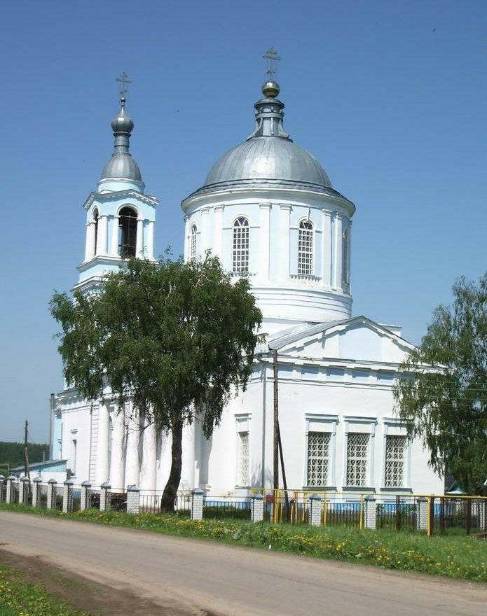 Церковь Успения Пресвятой Богородицы в селе Суворово