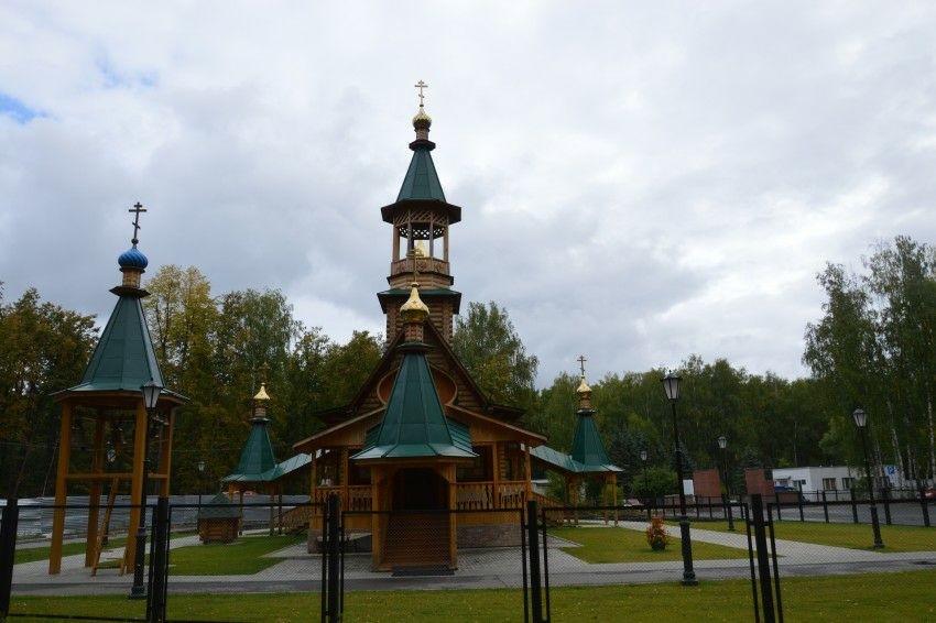 Церковь Иова Многострадального в Сарове