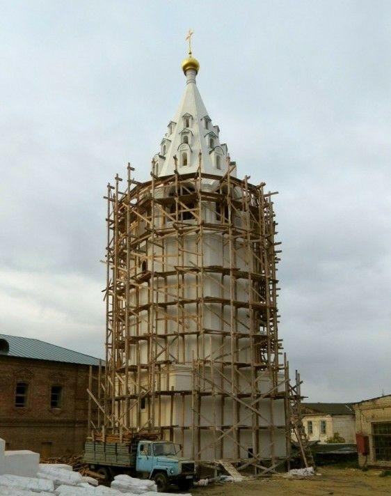 Колокольня в Арзамасском Спасо-Преображенском мужском монастыре