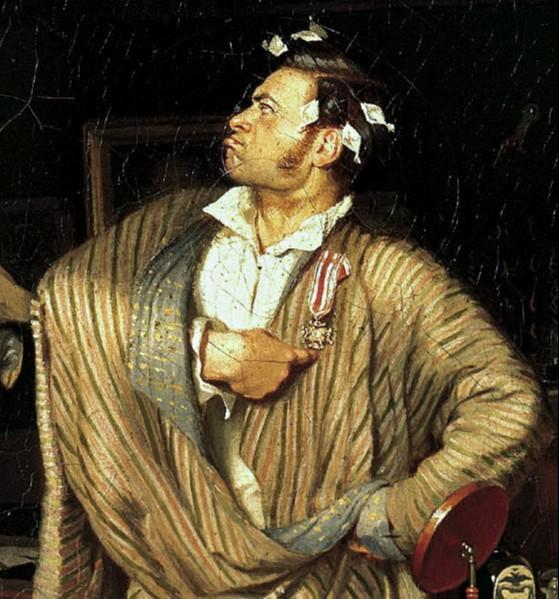 """Картина Павла Федотова """"Свежий кавалер"""""""
